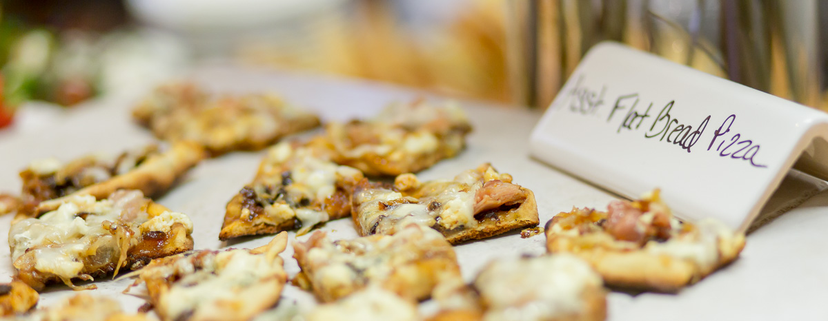 Catering Appetizers - Flat Bread