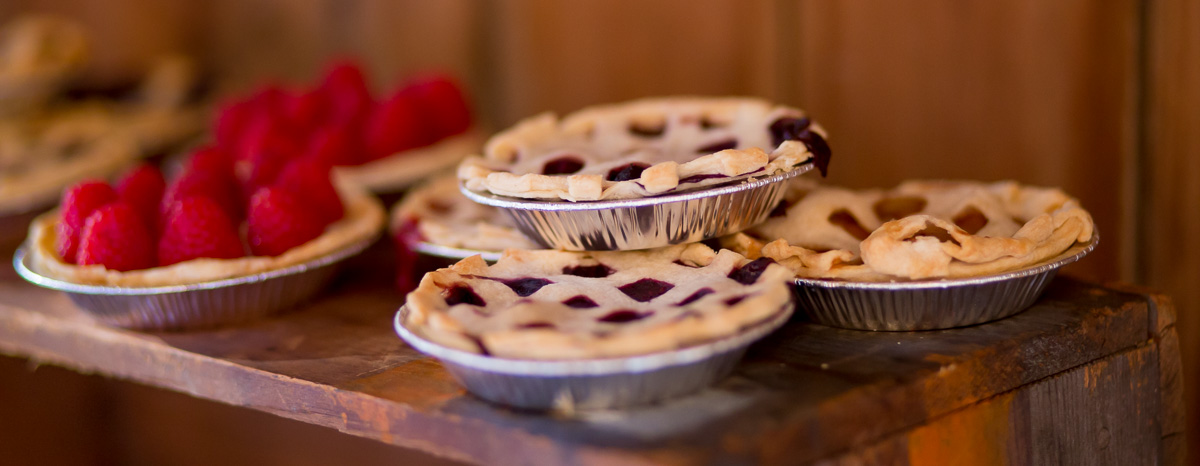 Wedding Catering Mini Pies