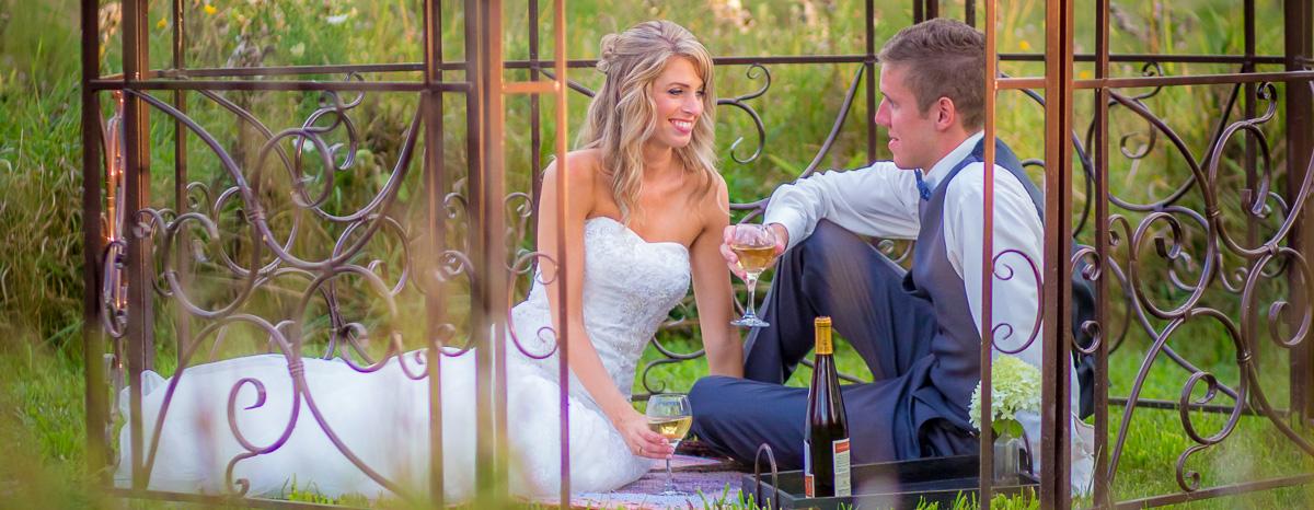 Wedding Reception Photography Wine