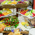 Catering Fruit, Vegetable, Cheese Spread