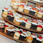 Wedding Reception Deser - Fall Cupcakes