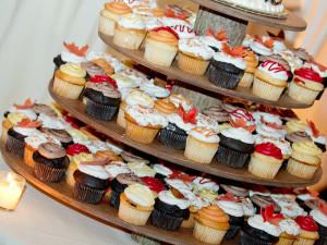 Wedding Reception Deser - Fall Cupcakes