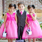 Wedding Reception photography - Ring Bearer and Flower Girls