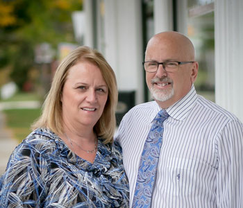 Patti & Gary Zylstra, owners of Catered Creations Inc.