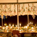 Wedding Reception Outdoor Candlelight Grand Rapids
