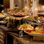 Party Catering Home Spread
