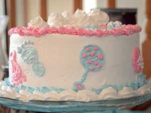 Baby Shower Catering Grand Rapids - Cake