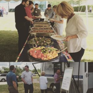 healthcare catered company picnic