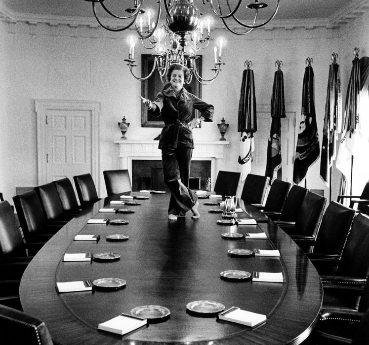 Betty Ford On Table