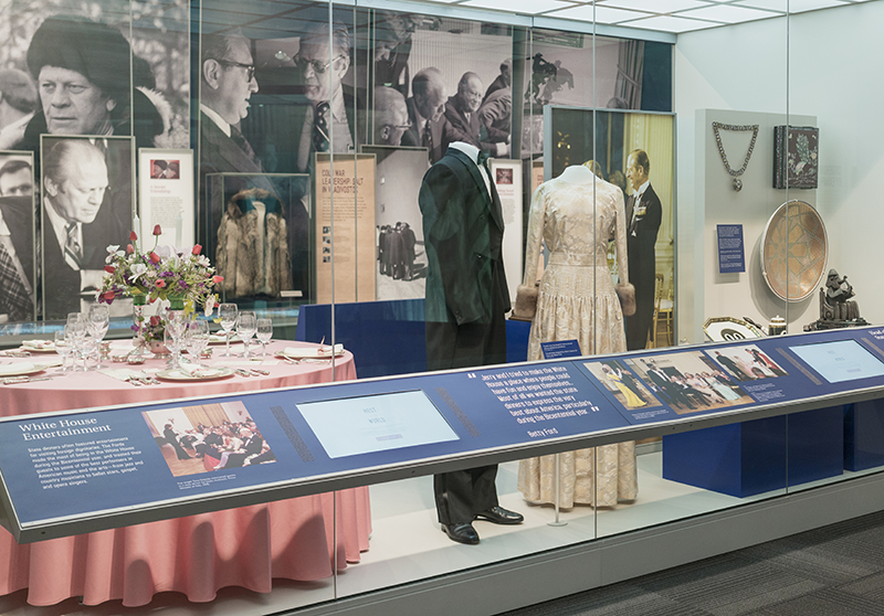 White House Entertaining Display at Ford Museum
