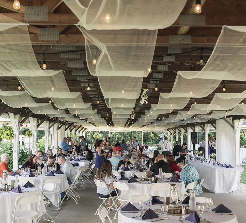 Wedding Venue Spotlight Post Family Farms Catered Creations