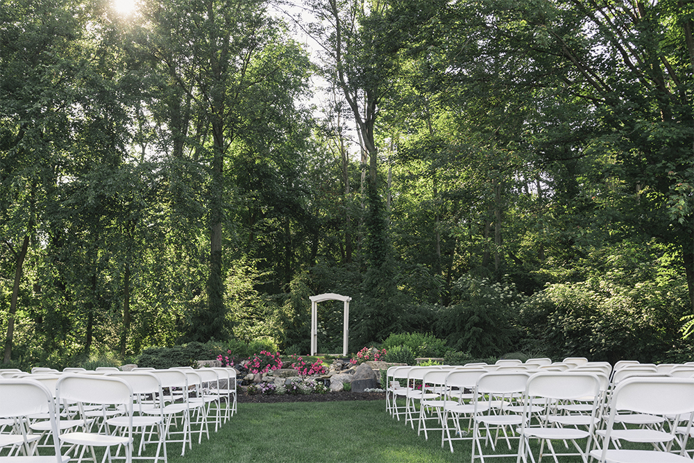 Ceremony Area at Post Family Farms
