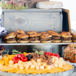 Picnic Catering Cheese & Burgers