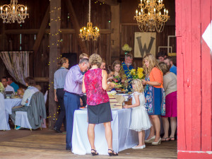 Wedding Reception in a barn - Grand Rapids
