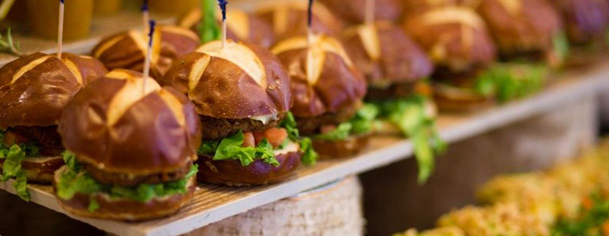 Burger Catering Slider