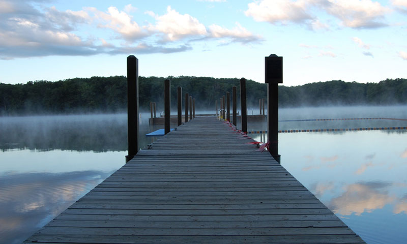 Dock at Camp Pendalouan
