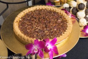Pecan pie at the Spring Tasting Event